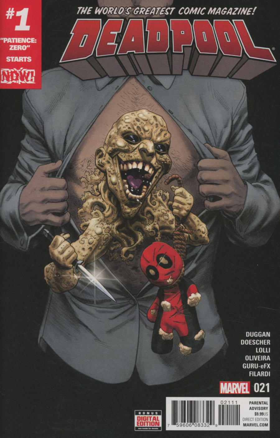 Deadpool Vol 5 #21 Cover A Regular Mike Hawthorne Cover (Marvel Now Tie-In)
