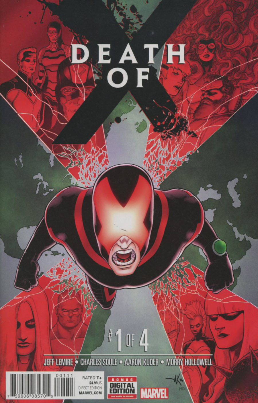 Death Of X #1 Cover A 1st Ptg Regular Aaron Kuder Cover