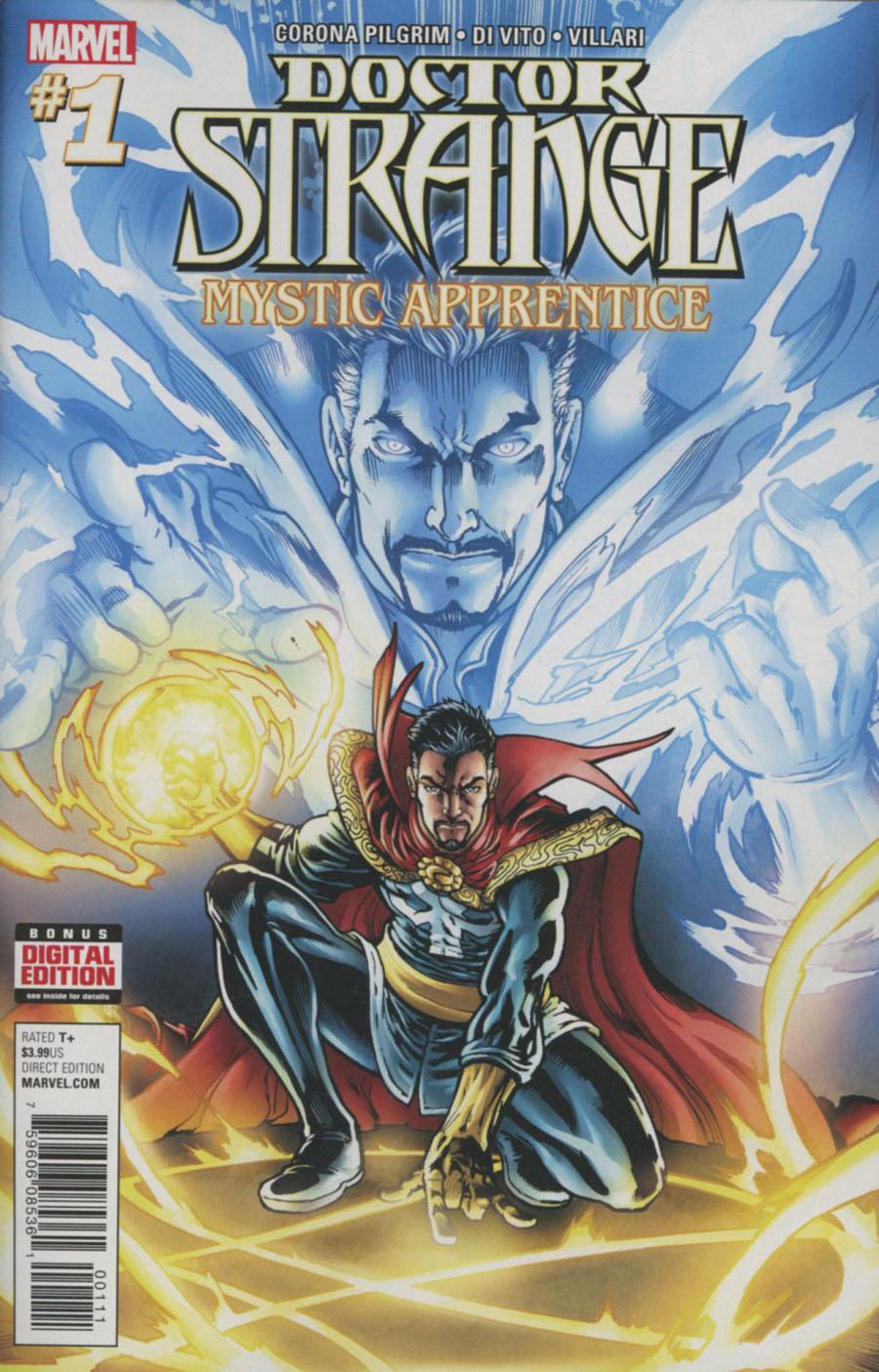 Doctor Strange Mystic Apprentice #1 Cover A Regular Michael Ryan Cover
