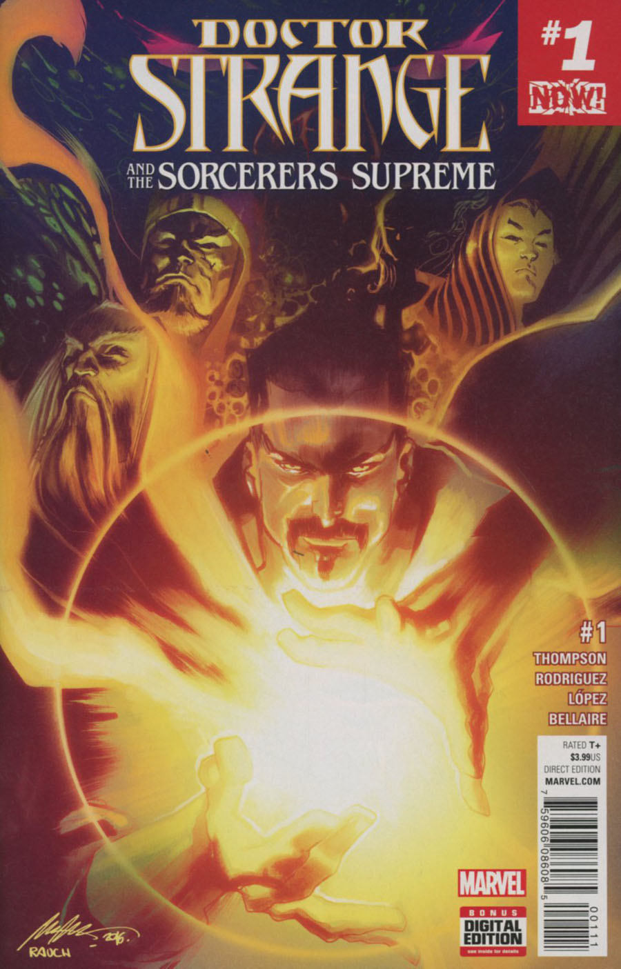 Doctor Strange And The Sorcerers Supreme #1 Cover A 1st Ptg Regular Rafael Albuquerque Cover (Marvel Now Tie-In)