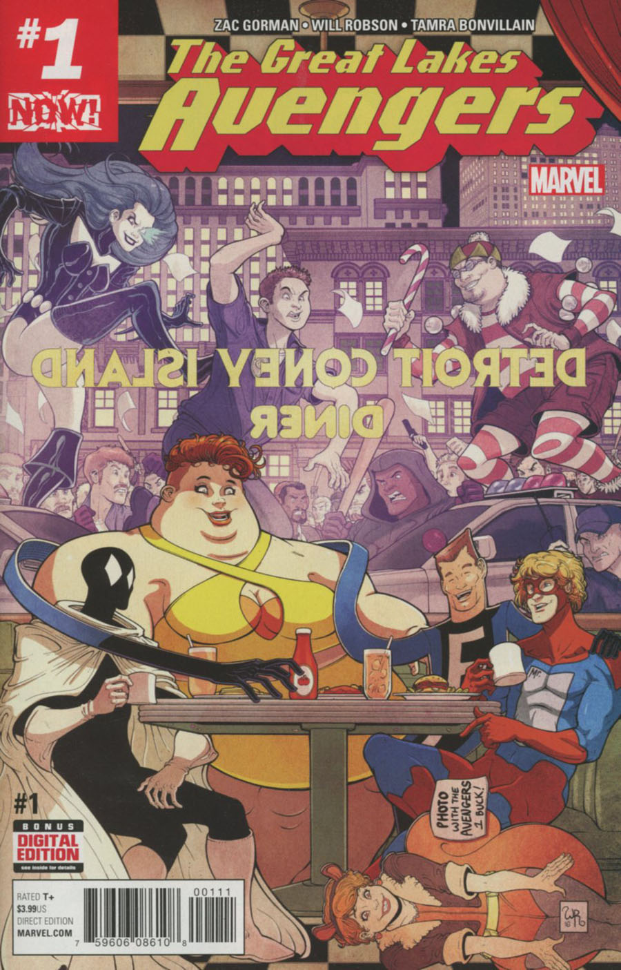 Great Lakes Avengers #1 Cover A Regular Will Robson Cover (Marvel Now Tie-In)