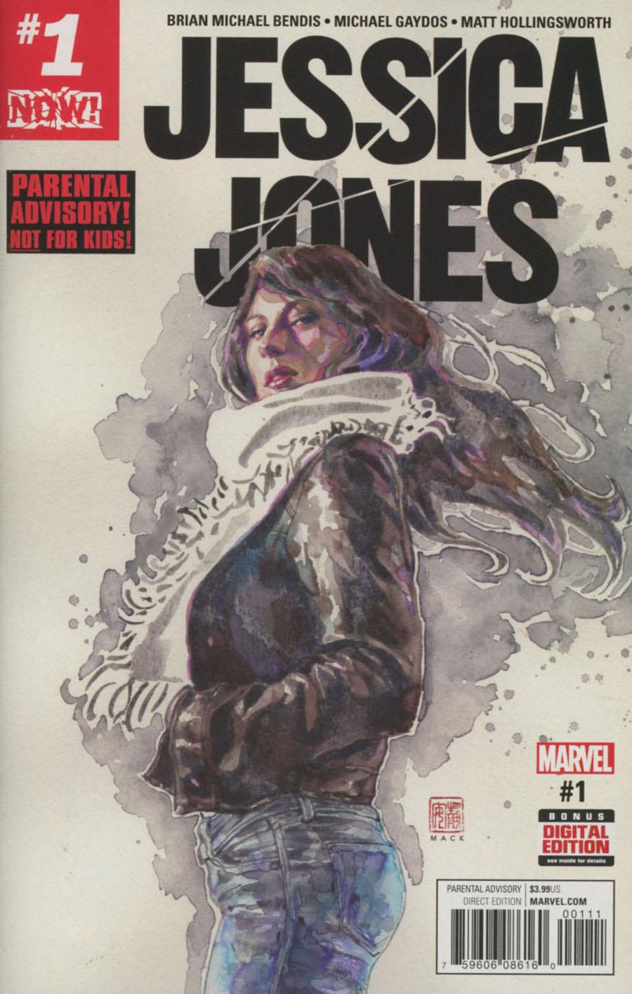 Jessica Jones #1 Cover A 1st Ptg Regular David Mack Cover (Marvel Now Tie-In)