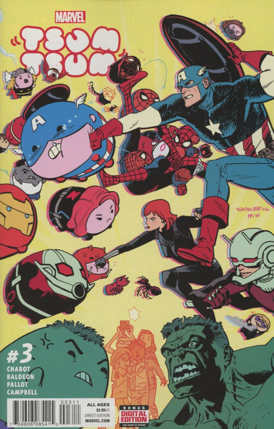 Marvel Tsum Tsum #3 Cover A Regular Chris Samnee Cover