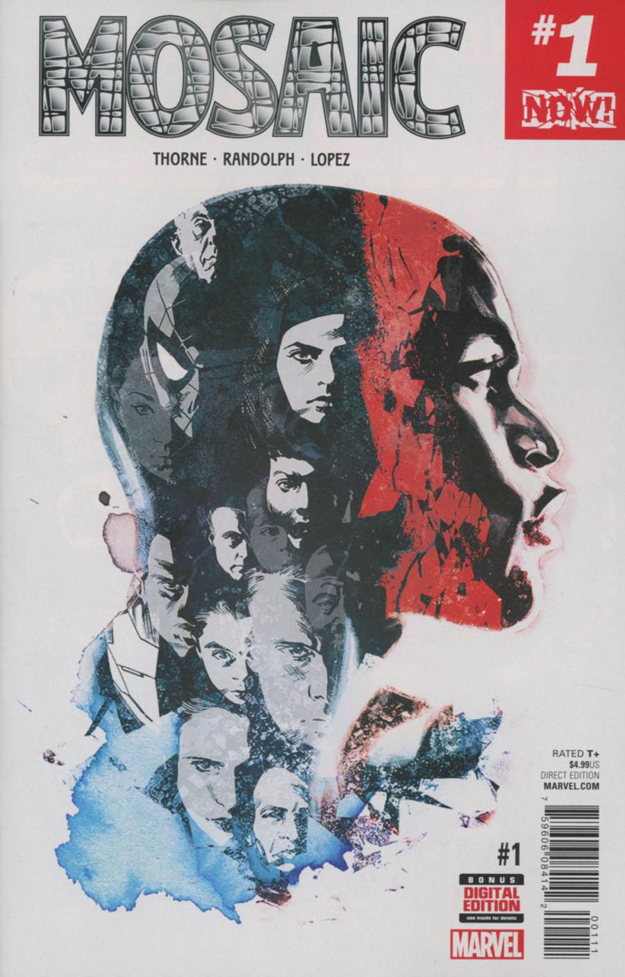 Mosaic #1 Cover A 1st Ptg Regular Stuart Immonen Cover (Marvel Now Tie-In)