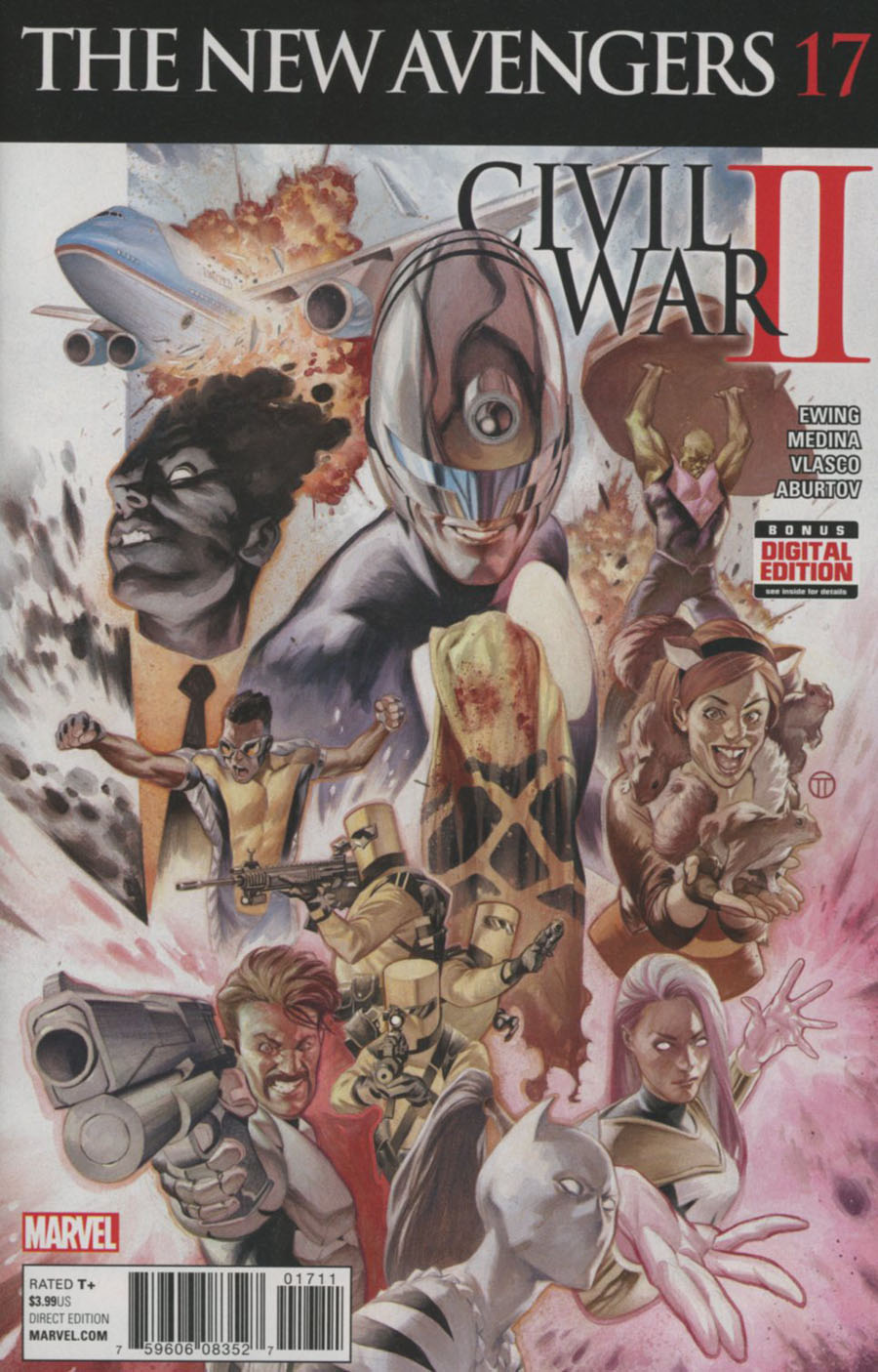 New Avengers Vol 4 #17 (Civil War II Tie-In)