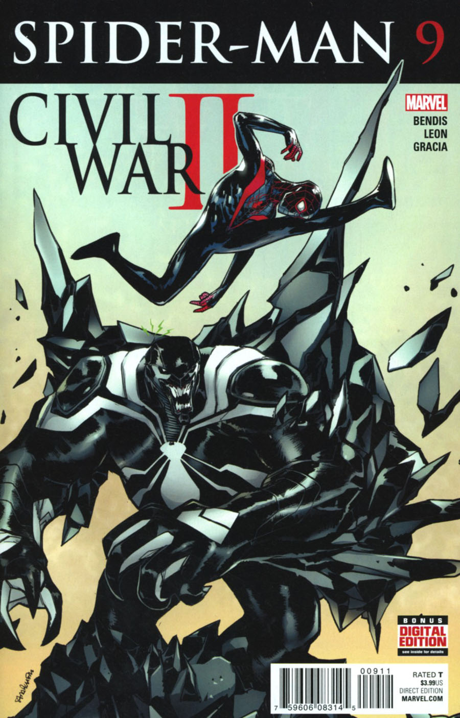 Spider-Man Vol 2 #9 (Civil War II Tie-In)