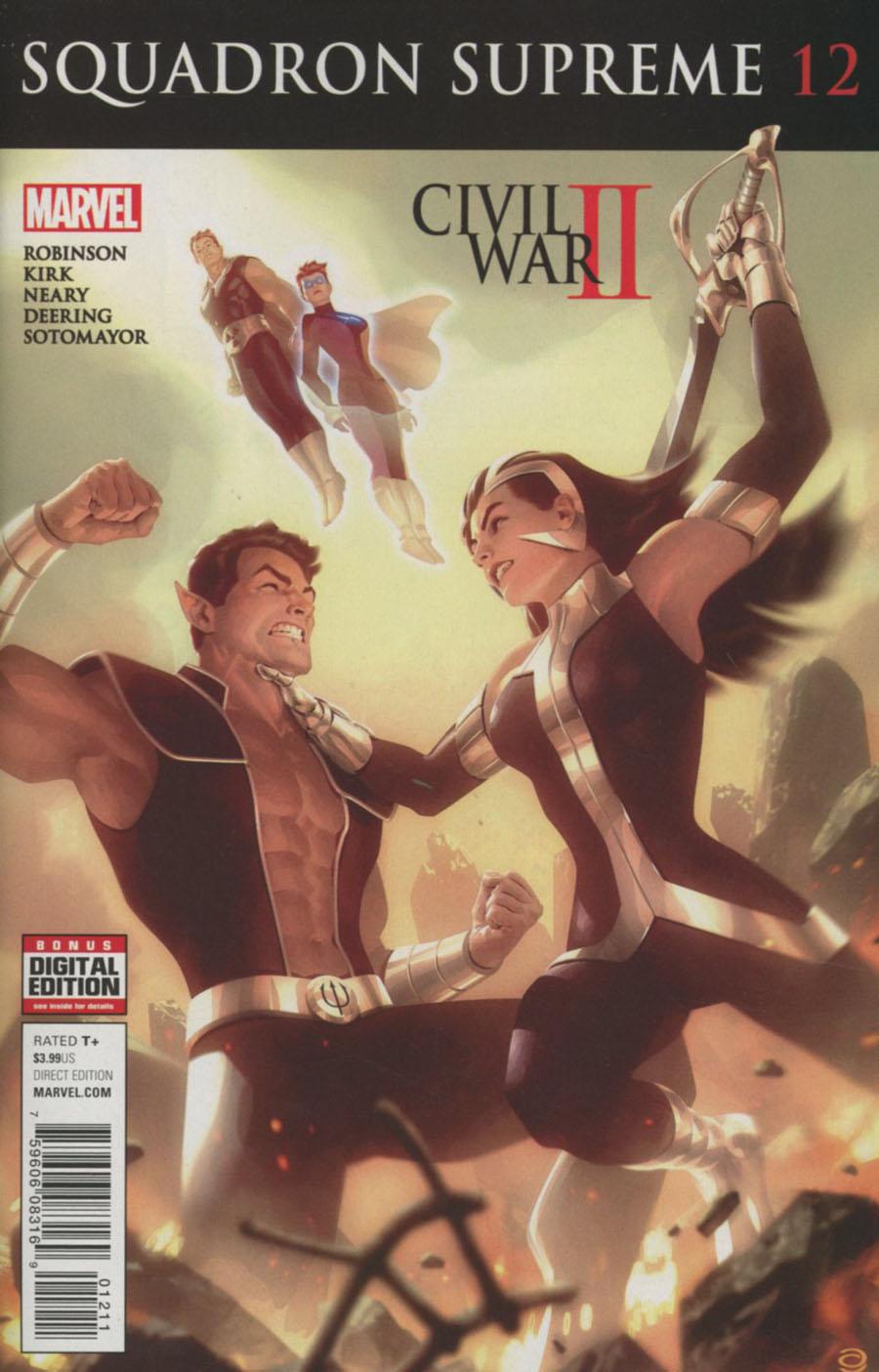 Squadron Supreme Vol 4 #12 (Civil War II Tie-In)