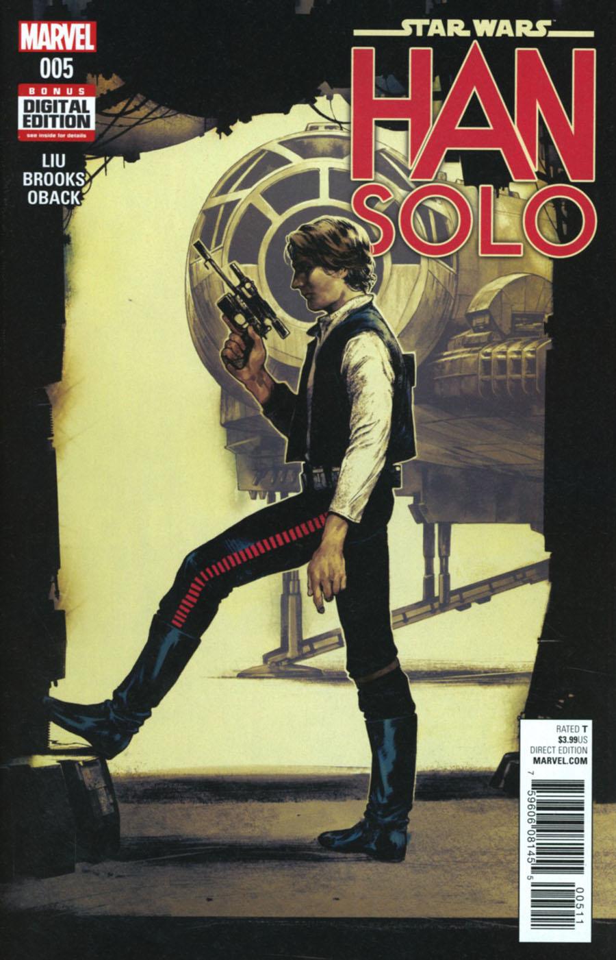 Star Wars Han Solo #5 Cover A Regular Kamome Shirahama Cover