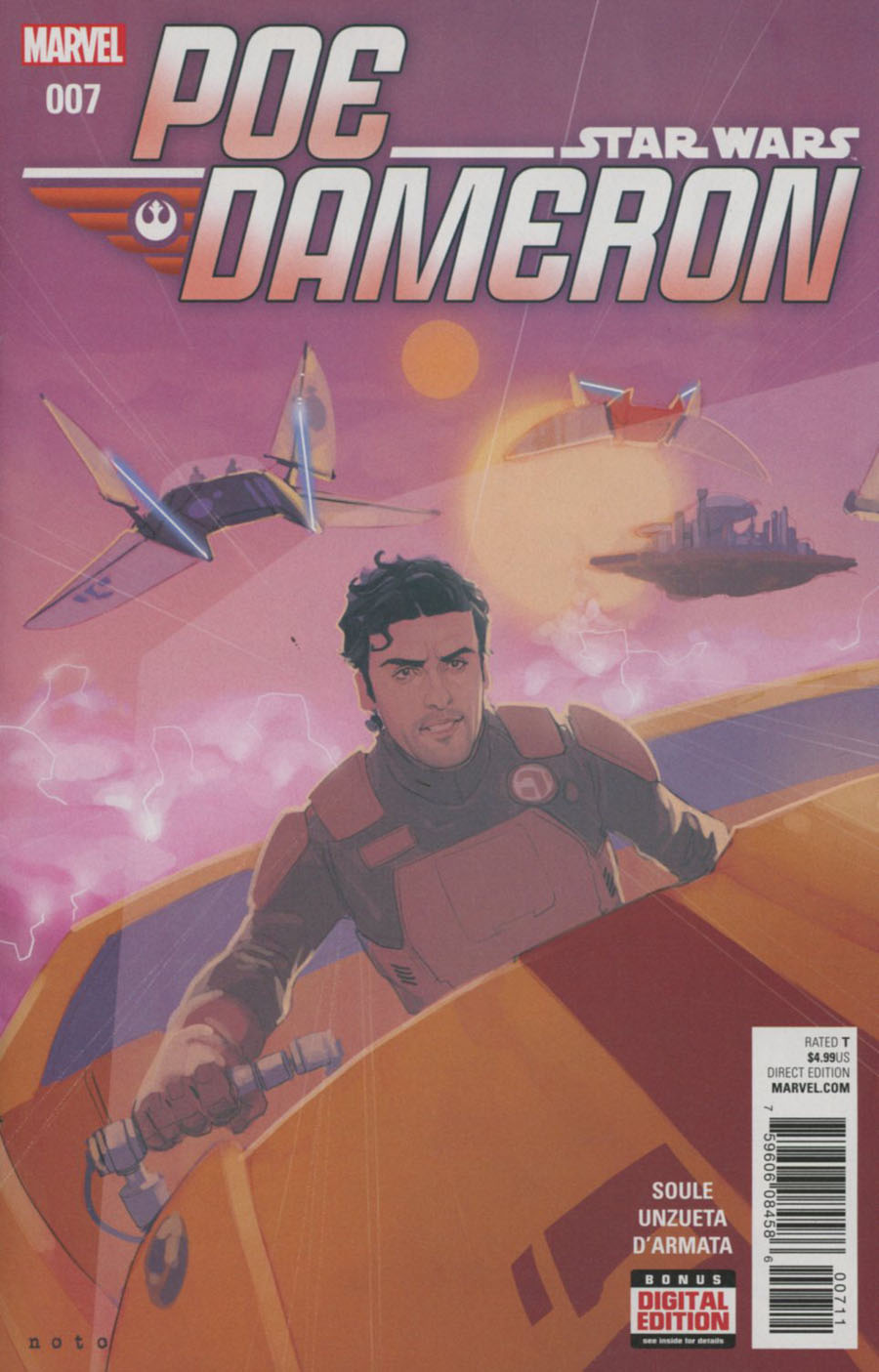Star Wars Poe Dameron #7 Cover A Regular Phil Noto Cover