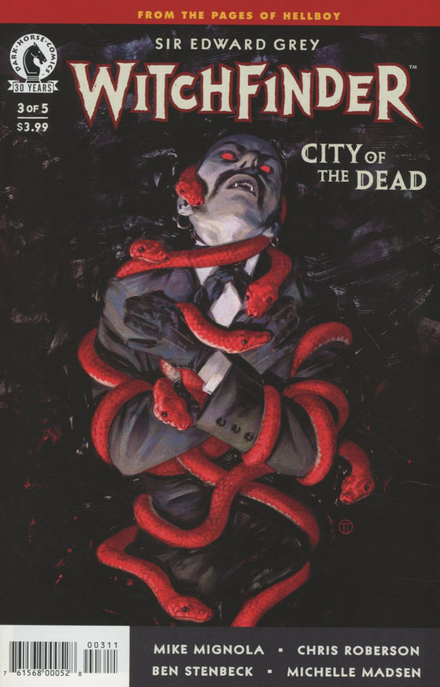 Witchfinder City Of The Dead #3