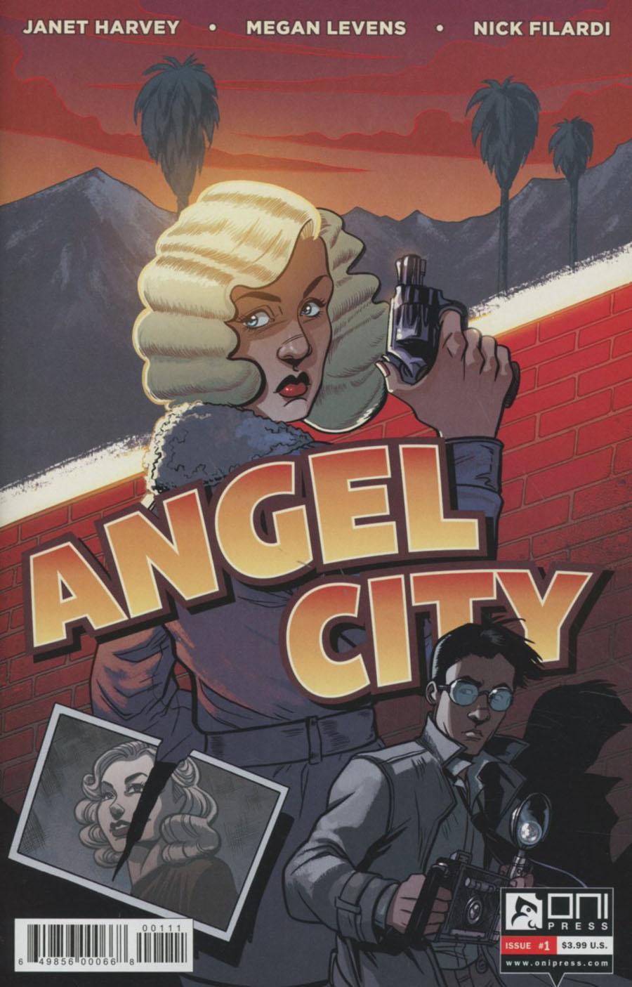 Angel City #1 Cover A Regular Megan Levens Cover