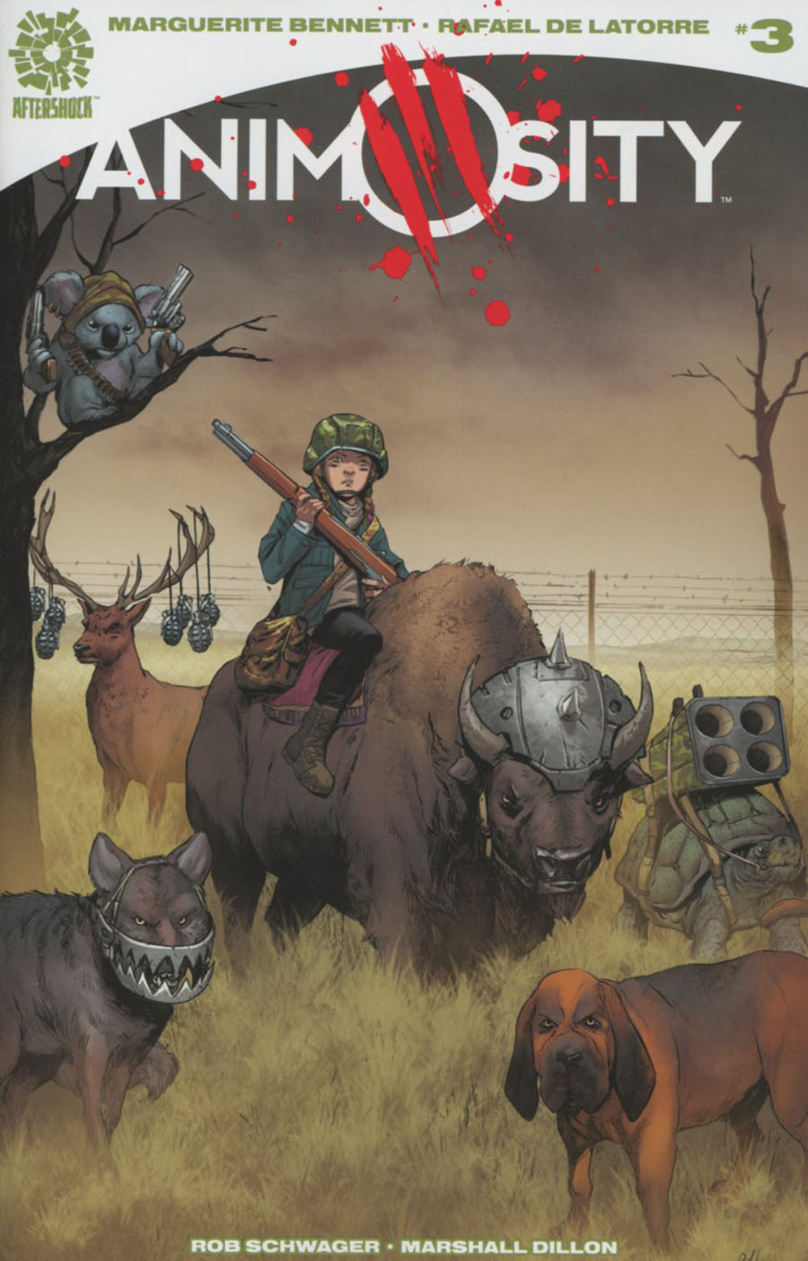 Animosity #3 Cover A Regular Rafael De Latorre Cover