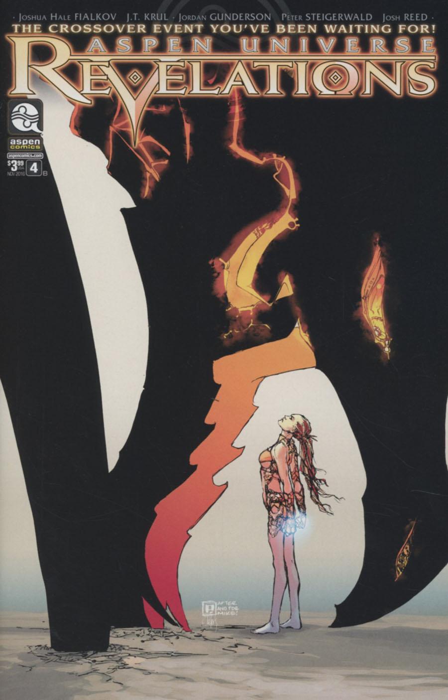 Aspen Universe Revelations #4 Cover B Variant Peter Steigerwald Cover