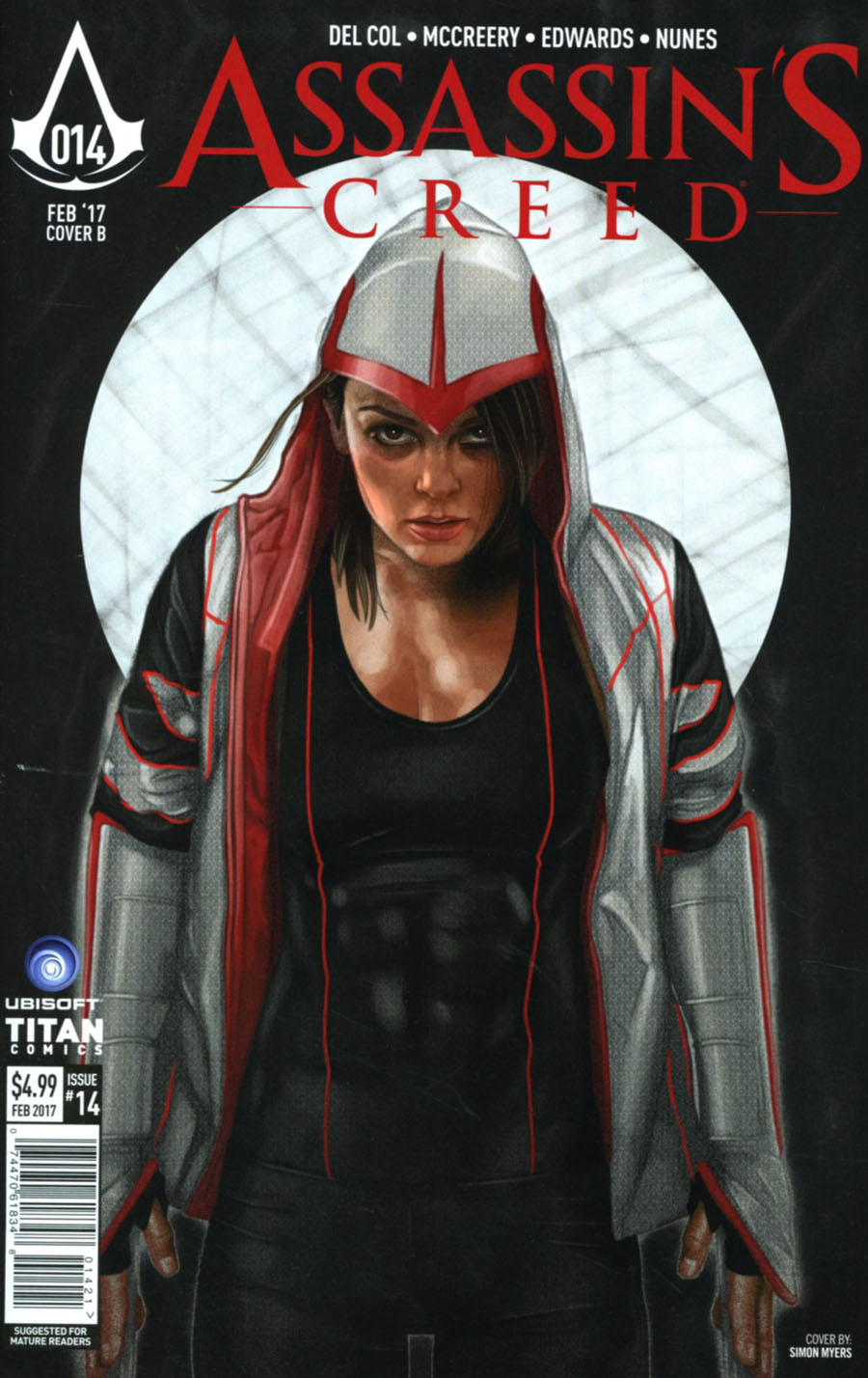Assassins Creed #14 Cover B Variant Simon Myers Cover