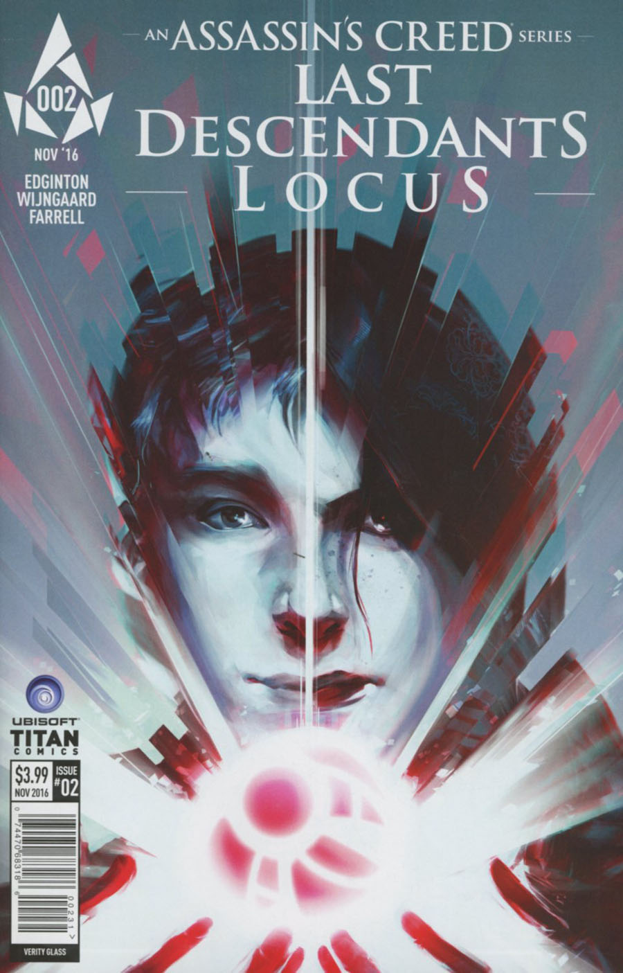 Assassins Creed Locus #2 Cover C Variant Verity Glass Cover
