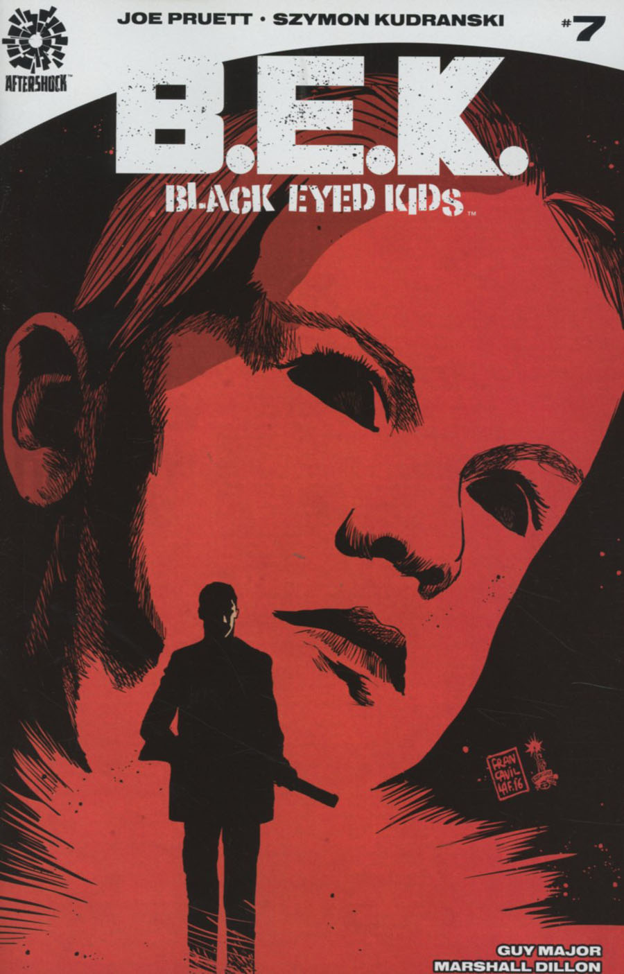 Black Eyed Kids #7 Cover A Regular Francesco Francavilla Cover