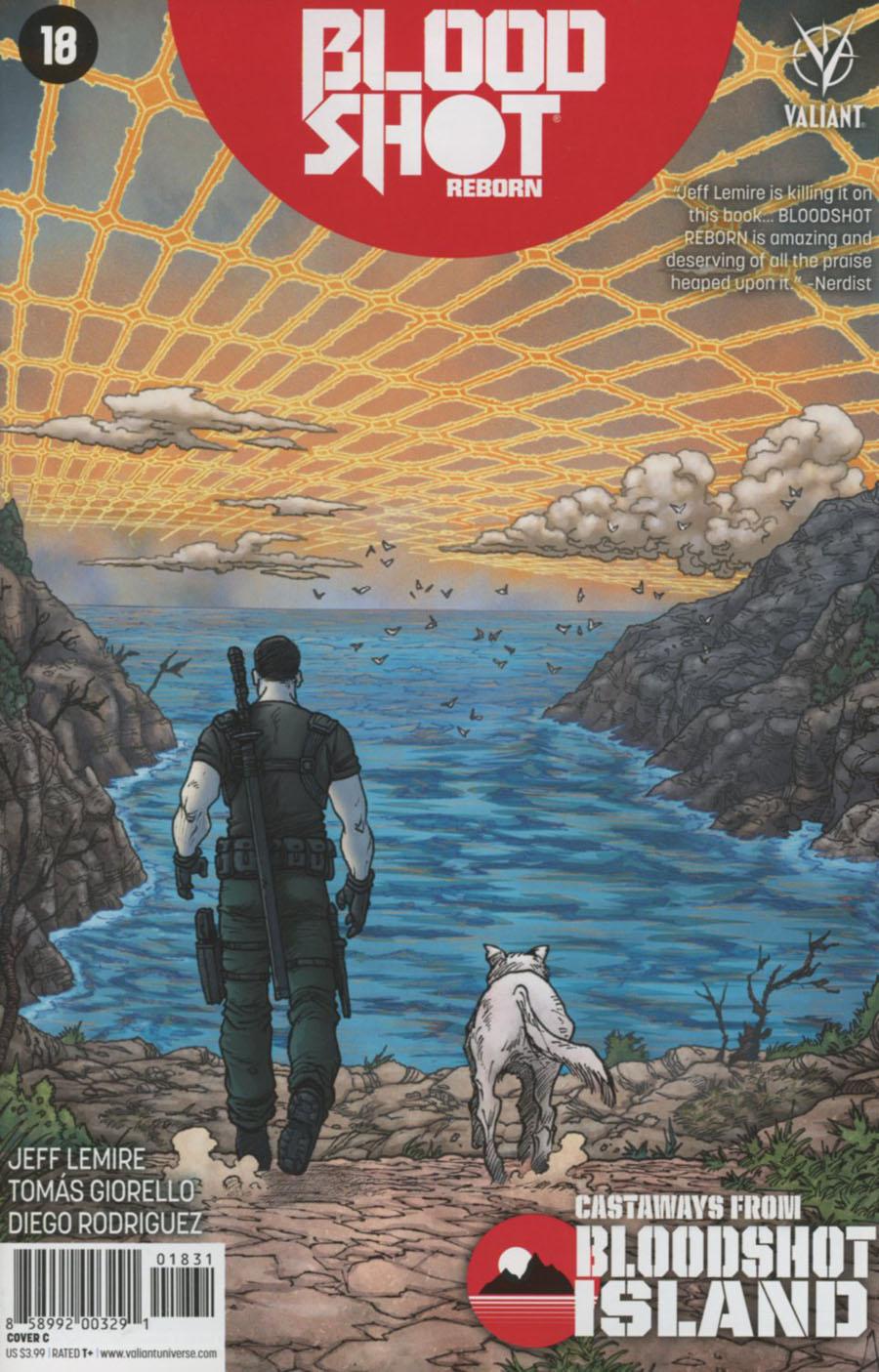 Bloodshot Reborn #18 Cover C Variant Andres Guinaldo Cover