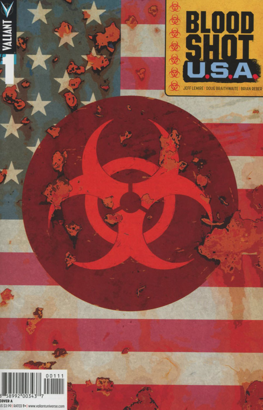 Bloodshot USA #1 Cover A Regular Kano Cover
