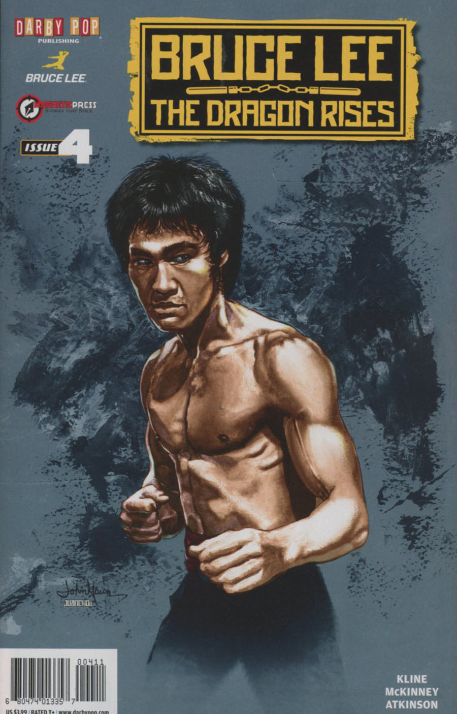 Bruce Lee Dragon Rises #4