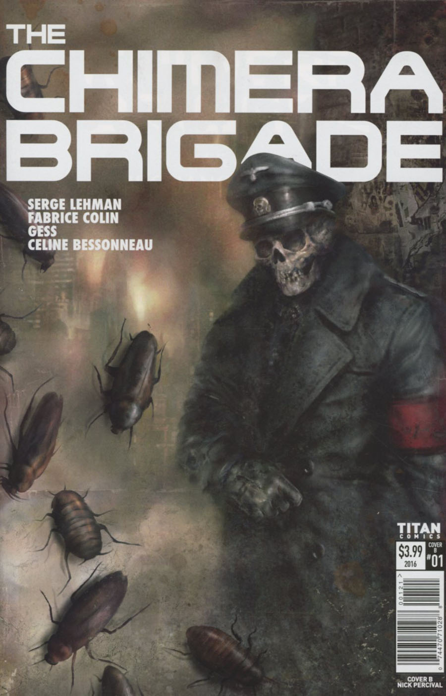Chimera Brigade #1 Cover B Variant Nick Percival Cover