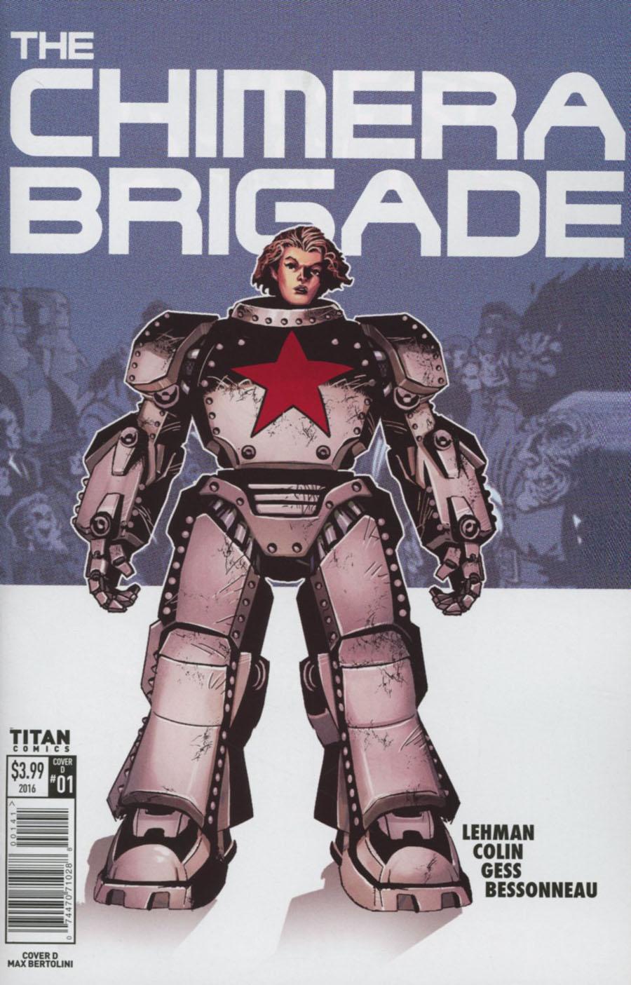 Chimera Brigade #1 Cover D Variant Max Bertolini Cover