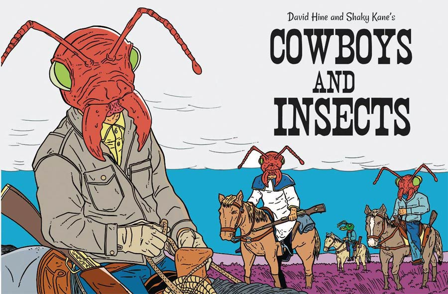 Cowboys And Insects One Shot
