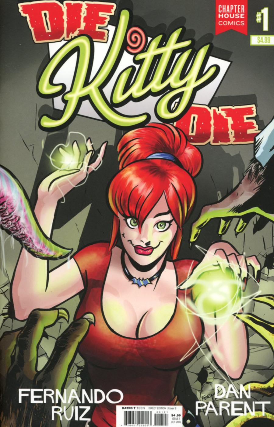 Die Kitty Die #1 Cover B Variant Fernando Ruiz Cover