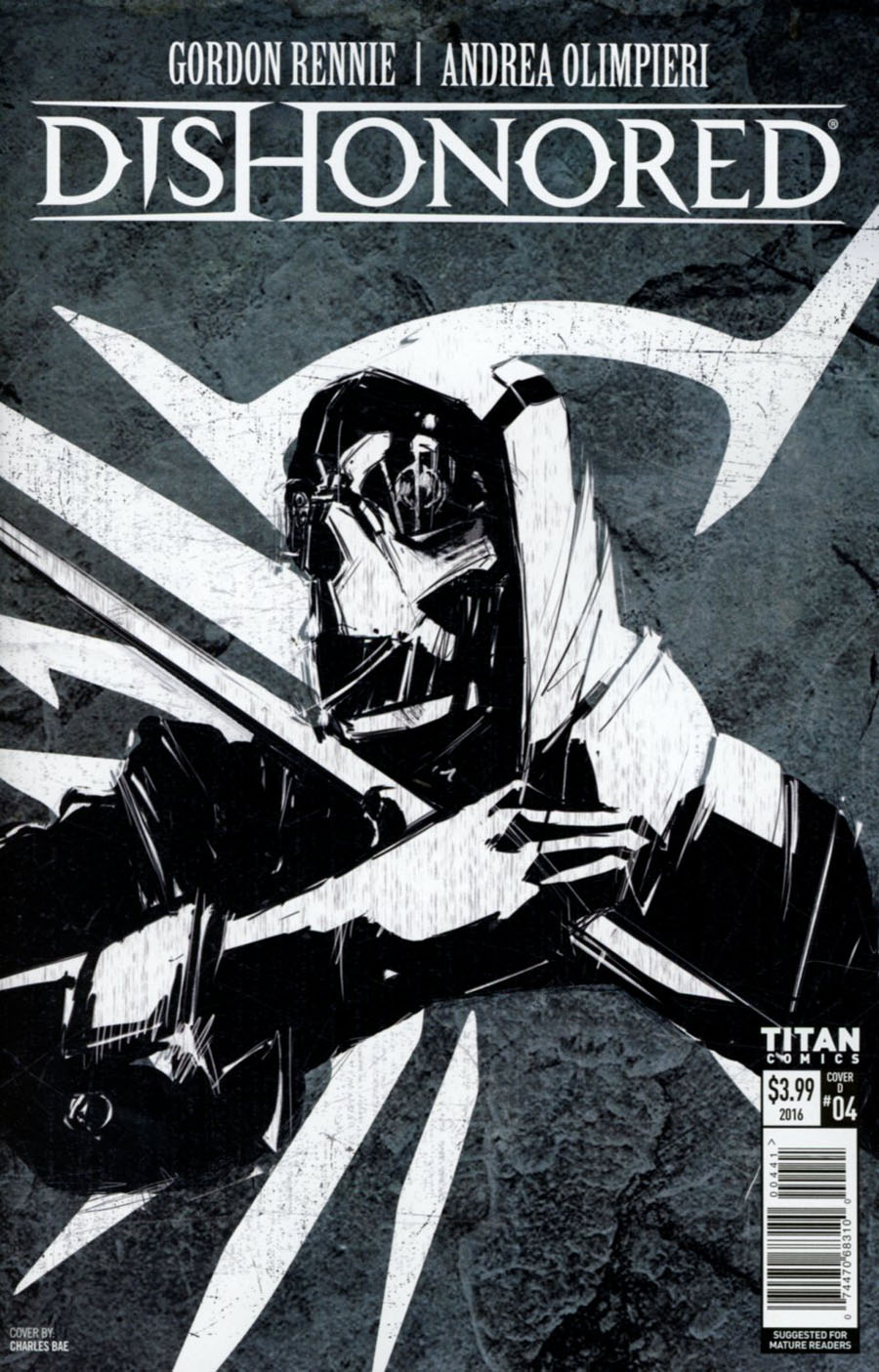 Dishonored #4 Cover D Variant Charles Bae Cover