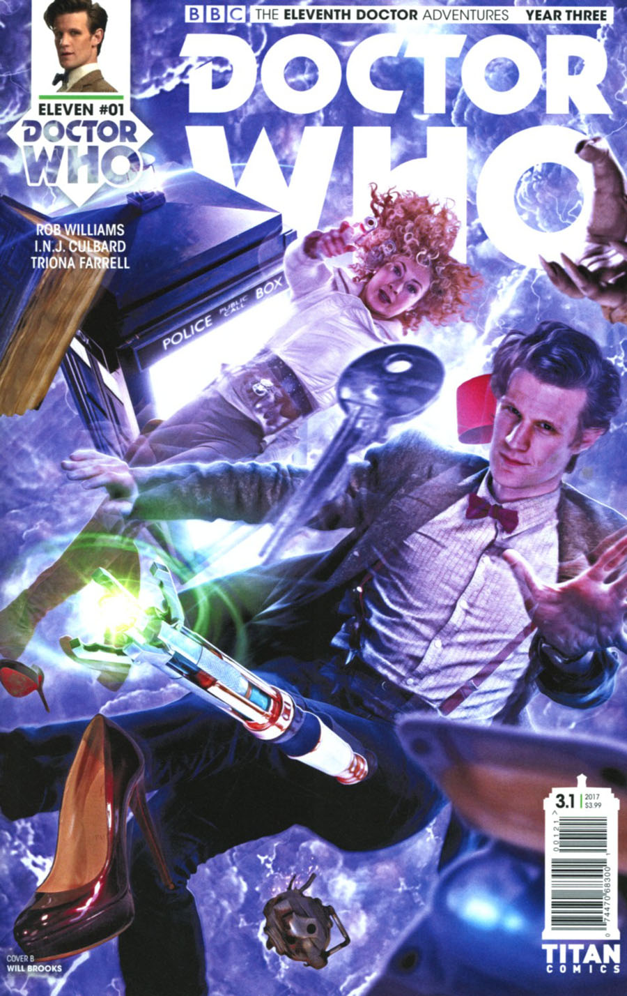 Doctor Who 11th Doctor Year Three #1 Cover B Variant Photo Cover