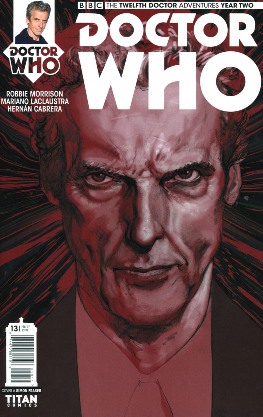 Doctor Who 12th Doctor Year Two #13 Cover A Regular Simon Fraser Cover