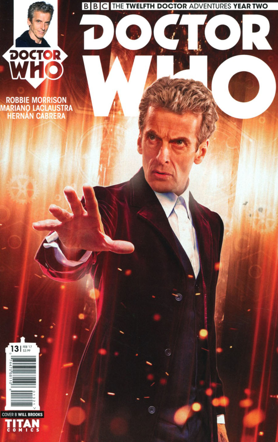 Doctor Who 12th Doctor Year Two #13 Cover B Variant Photo Cover