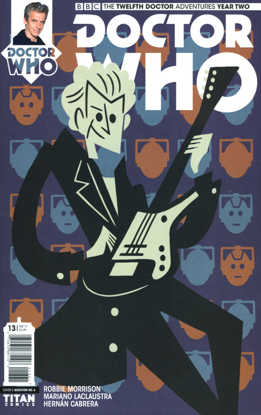 Doctor Who 12th Doctor Year Two #13 Cover C Variant Question No 6 Cover