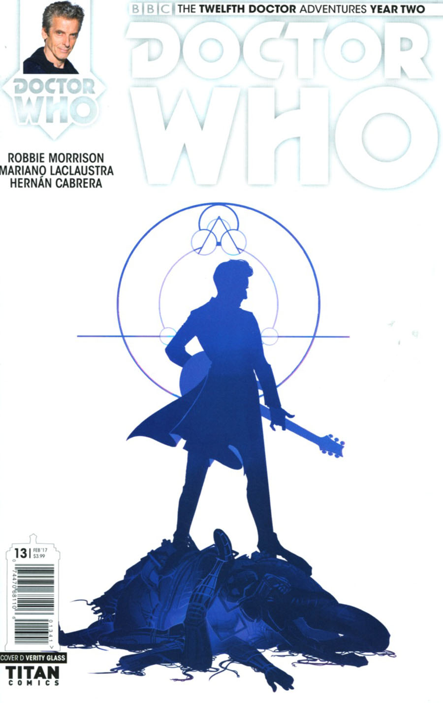 Doctor Who 12th Doctor Year Two #13 Cover D Variant Verity Glass Cover
