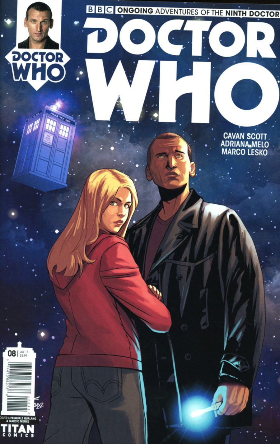 Doctor Who 9th Doctor Vol 2 #8 Cover A Regular Pasquale Qualano Cover