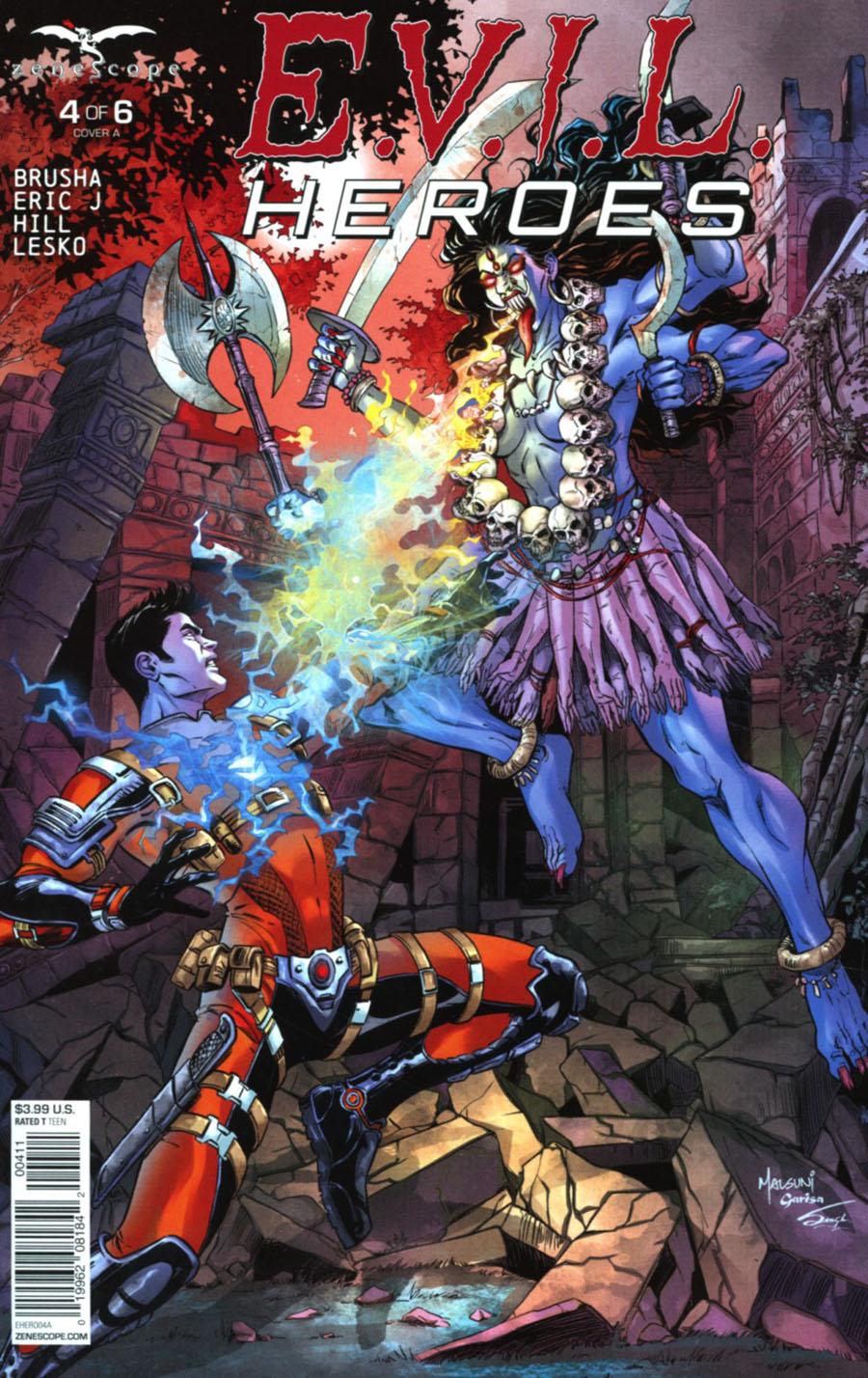 Evil Heroes #4 Cover A Abhishek Malsuni