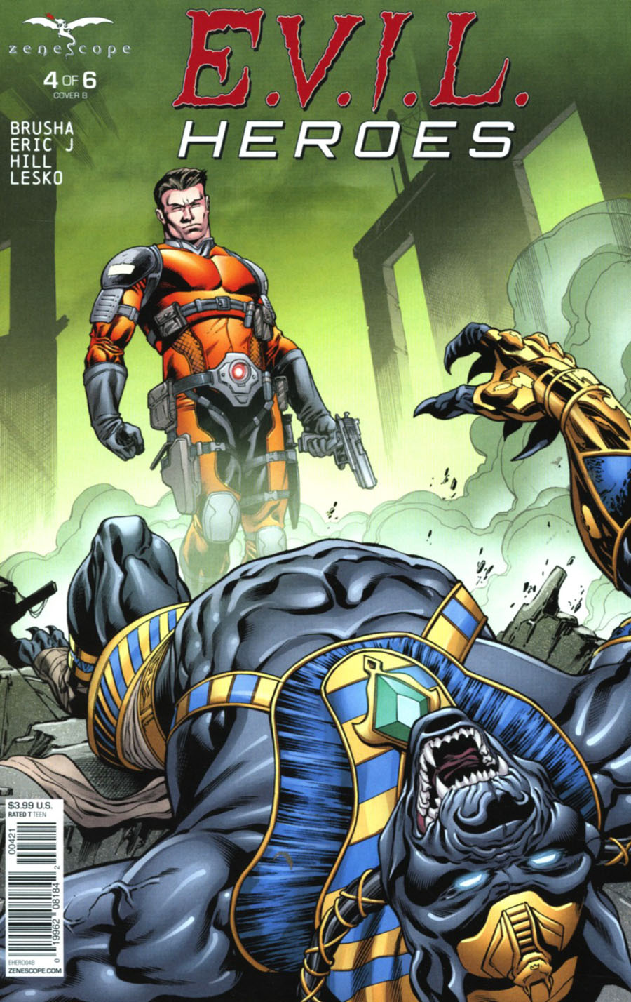 Evil Heroes #4 Cover B Robert Atkins