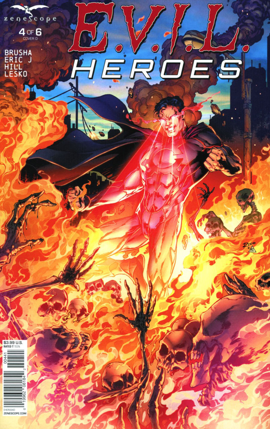 Evil Heroes #4 Cover D Ian Richardson