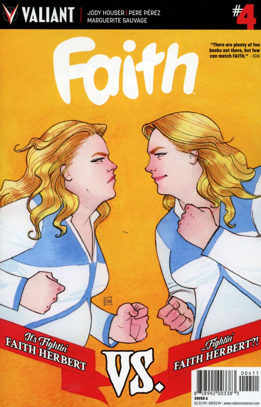 Faith (Valiant Entertainment) Vol 2 #4 Cover A Regular Kevin Wada Cover