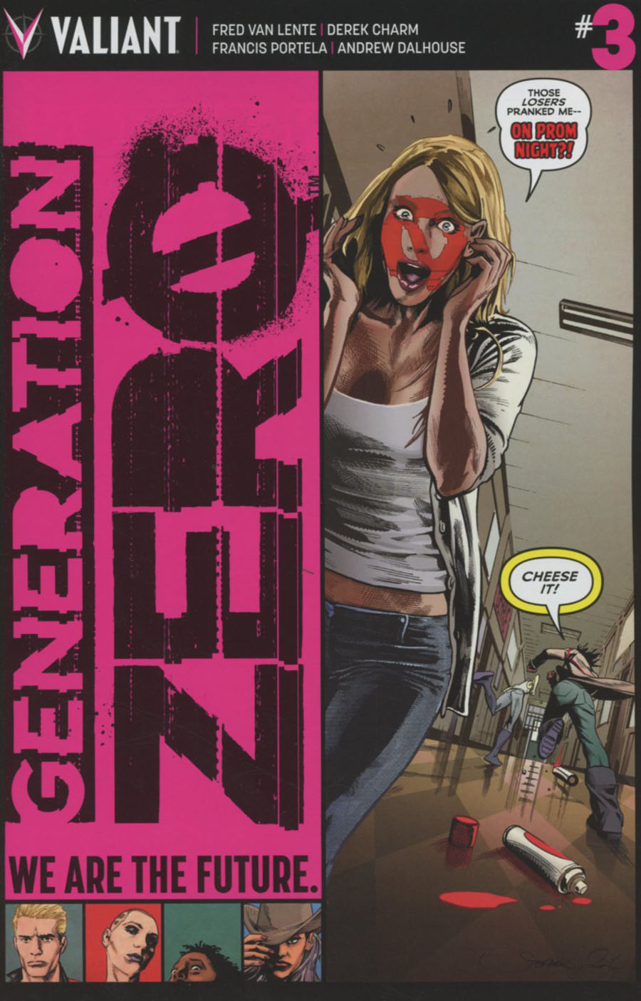 Generation Zero #3 Cover A Regular Stephen Mooney Cover