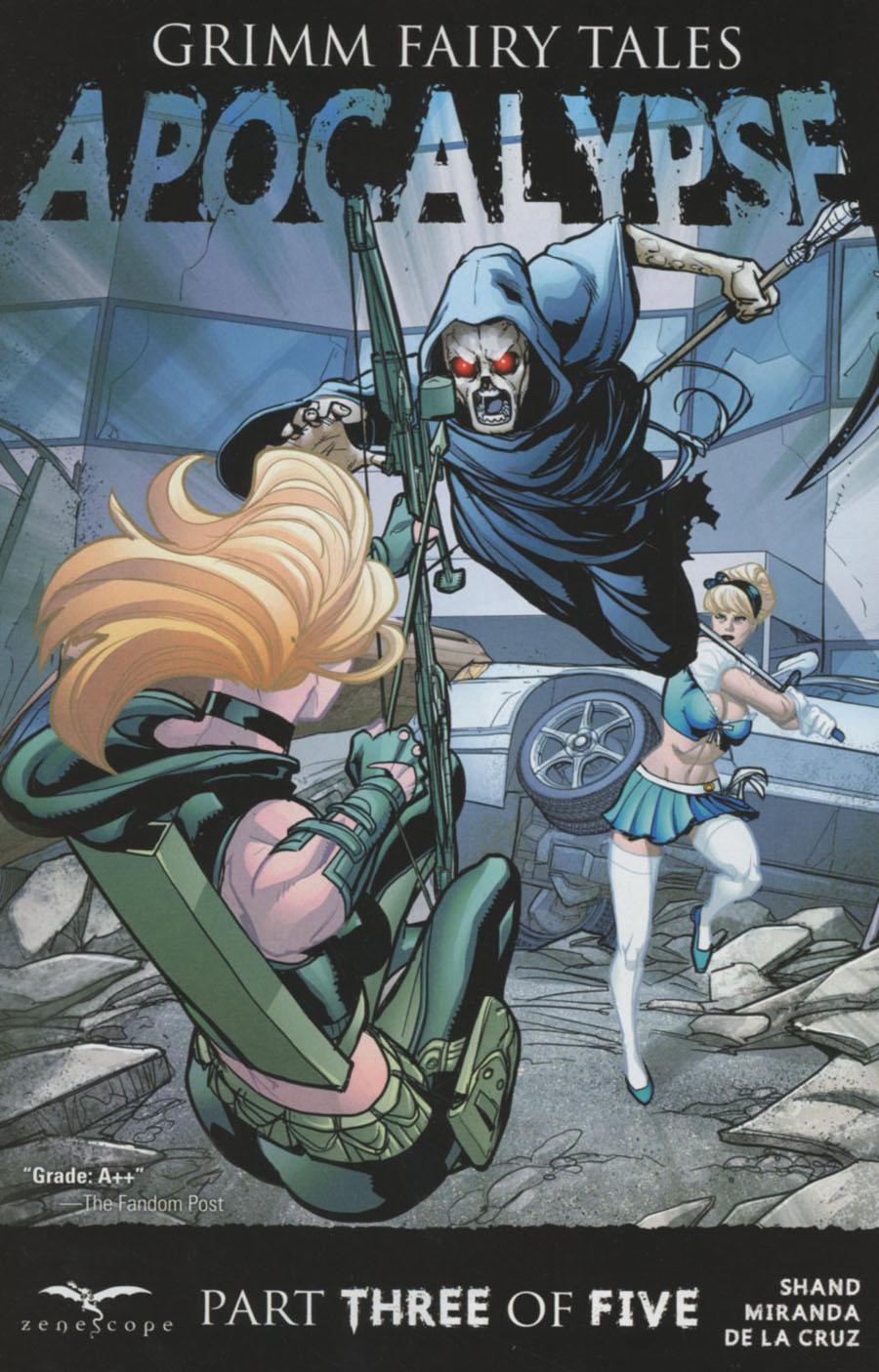 Grimm Fairy Tales Presents Apocalypse #3 Cover A Salvatore Cuffari