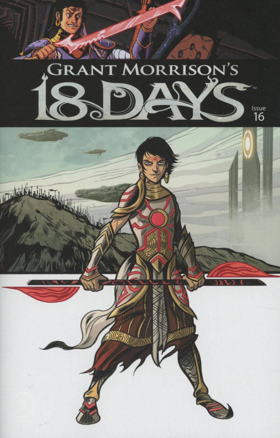 Grant Morrisons 18 Days #16 Cover B Variant Mukesh Singh Cover