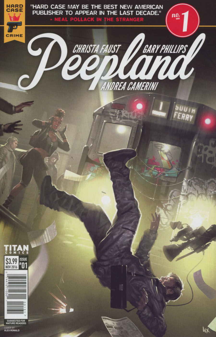 Hard Case Crime Peepland #1 Cover C Variant Alex Ronald Cover