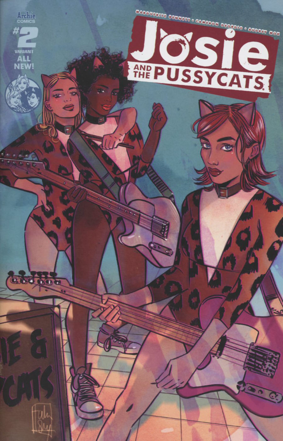 Josie And The Pussycats Vol 2 #2 Cover C Variant Tula Lotay Cover