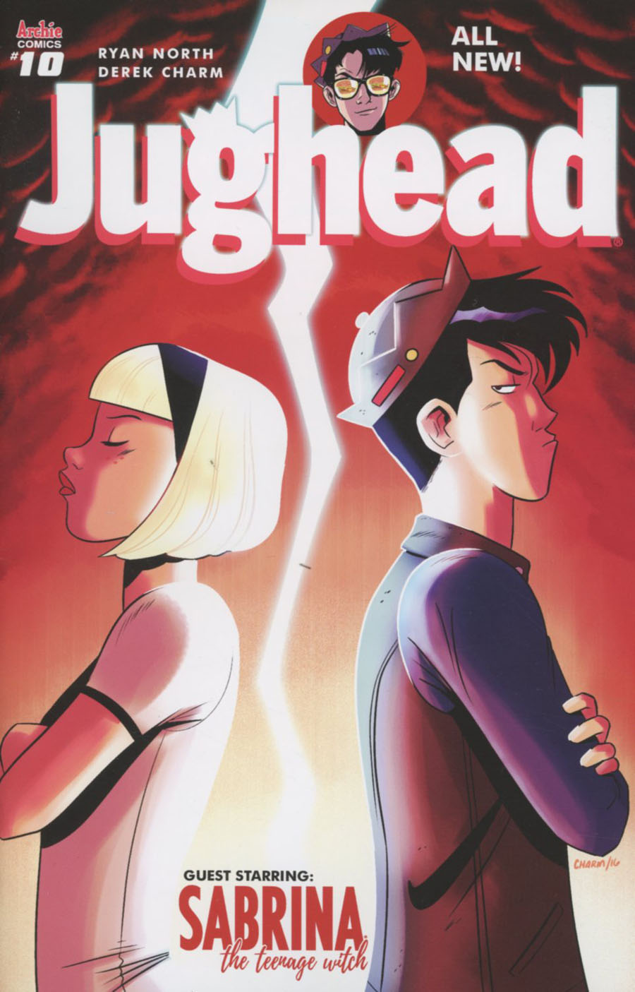 Jughead Vol 3 #10 Cover A Regular Derek Charm Cover