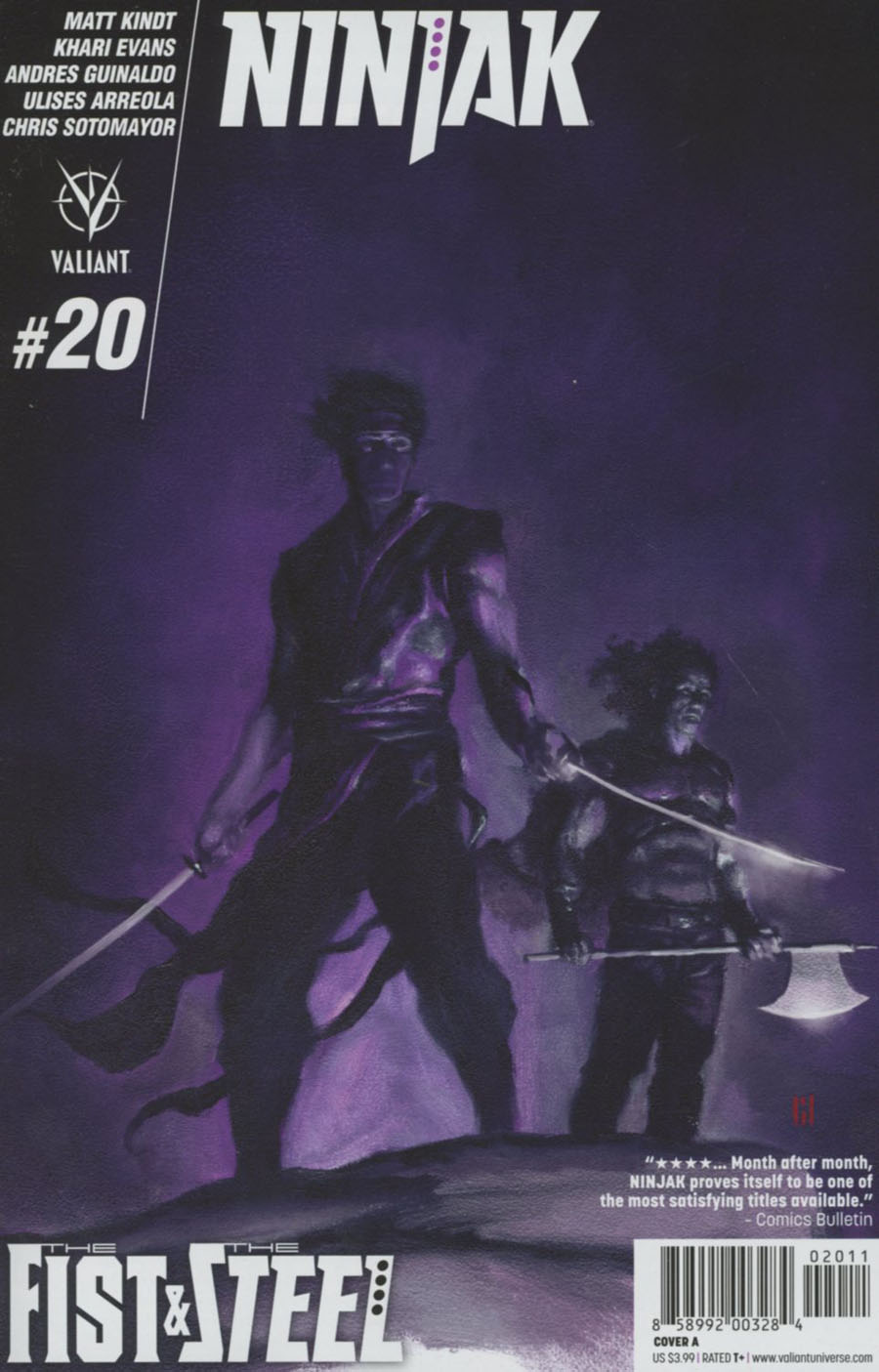 Ninjak Vol 3 #20 Cover A Regular Mike Choi Cover
