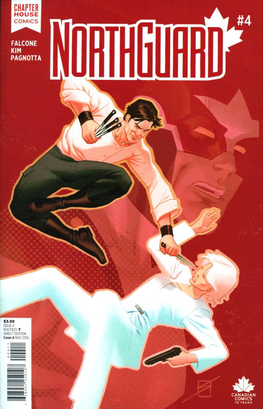 Northguard #4 Cover A Regular Ron Salas Cover