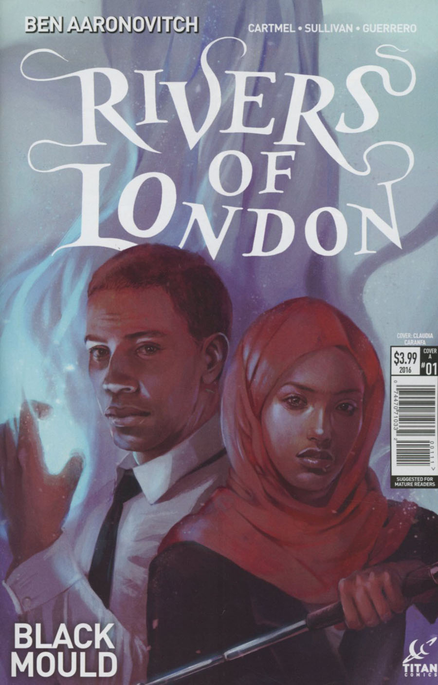 Rivers Of London Black Mould #1 Cover A Regular Claudia Caranfa Cover
