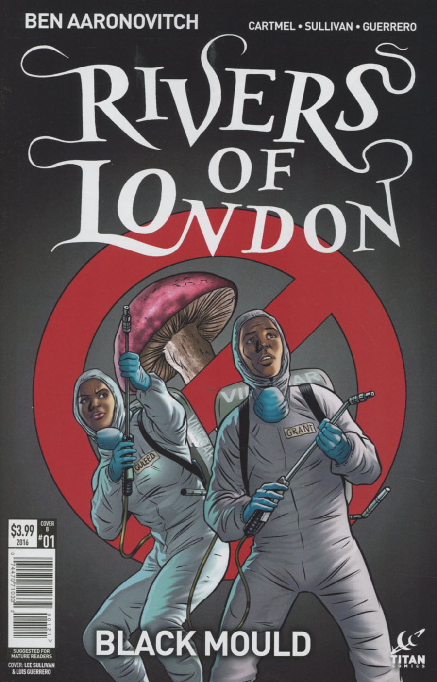 Rivers Of London Black Mould #1 Cover B Variant Lee Sullivan & Luis Guerrero Cover