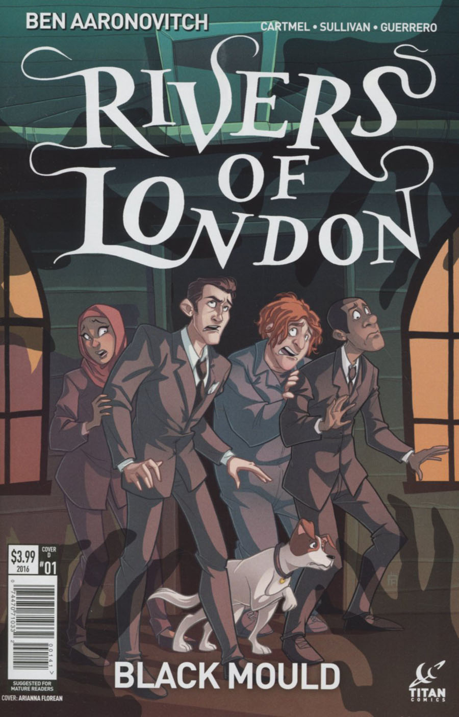 Rivers Of London Black Mould #1 Cover D Variant Arianna Florean Cover