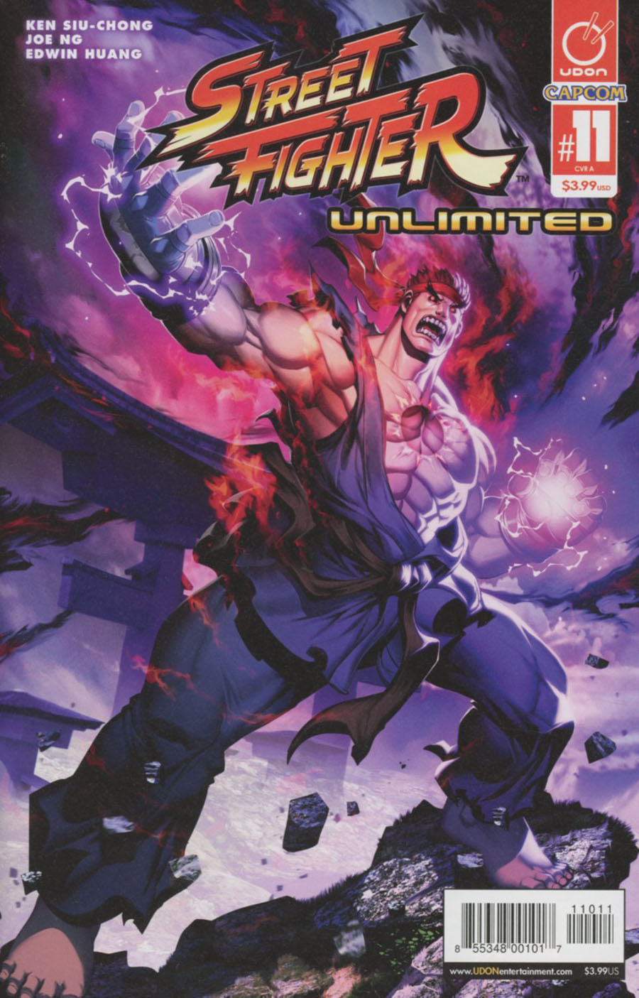 Street Fighter Unlimited #11 Cover A Regular Genzoman Story Cover